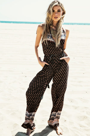 Alinah Tribal Jumpsuit /// Only 1-S Left /// - Haute & Rebellious
