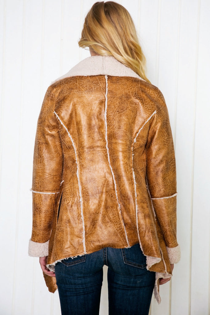 Annice Fur Leather Jacket - Haute & Rebellious