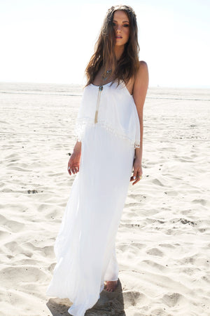 Layered Maxi Dress - Haute & Rebellious
