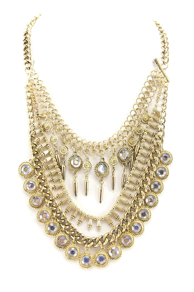 GYPSY COMBO NECKLACE - GOLD