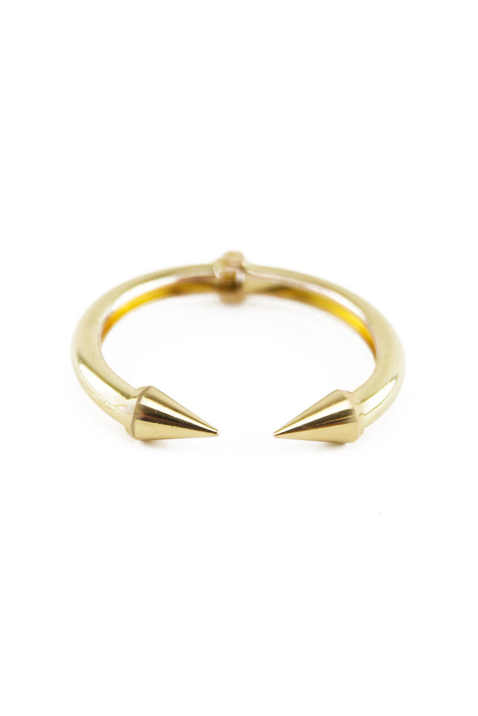 HEAVY PLATED JOINT CUFF BRACELET