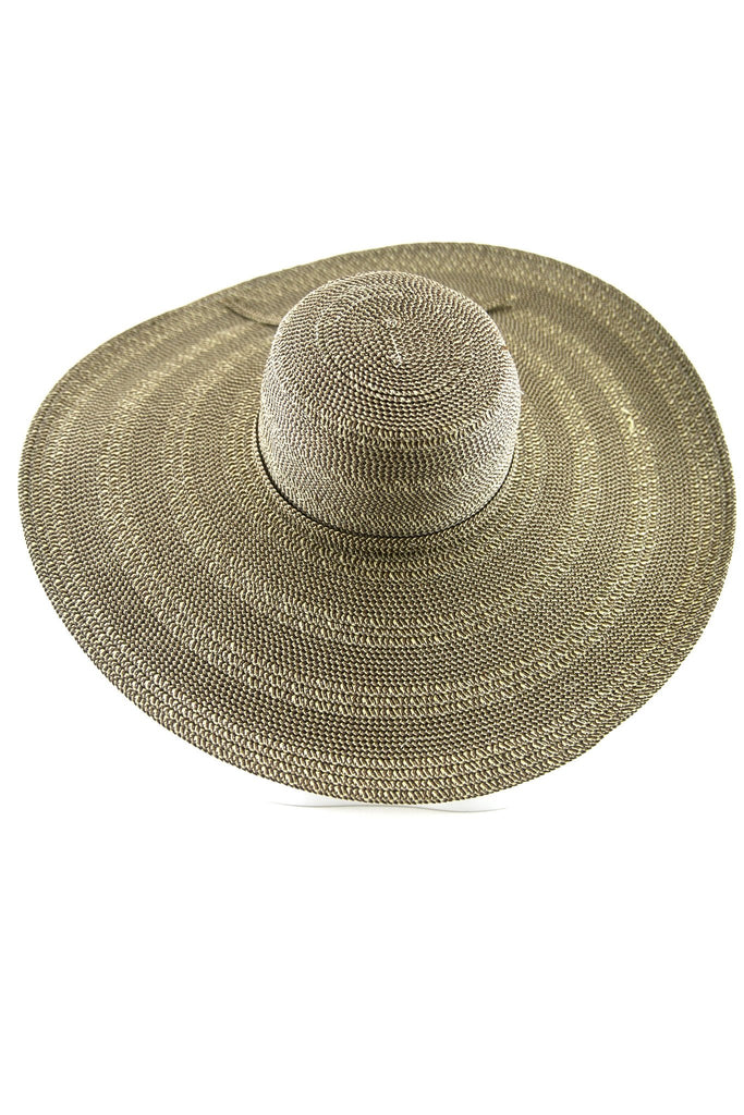 Lana Floppy Brim Straw Hat - Brown