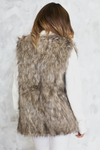 Winter Lodge Faux Fur Vest - Haute & Rebellious