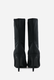 Pointy Sock Boots - Black