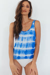 Tie-Dye Ladder Back Tank
