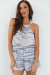 Sky's The Limit Tie-Dye Romper