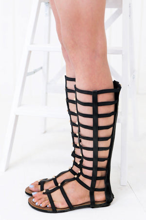 Apollo High Gladiator Sandal - Haute & Rebellious