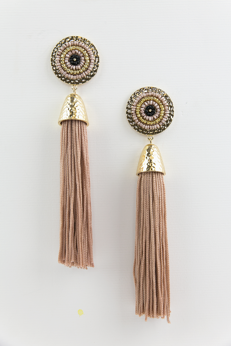 Lanai Tassle Long Earring - Haute & Rebellious