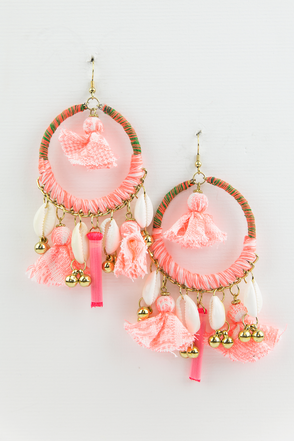 Nice Dream Hoop Earring - Pink - Haute & Rebellious
