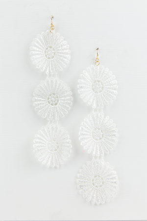 Long Crochet Earring - Haute & Rebellious