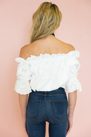Mara Off Shoulder Top - Haute & Rebellious