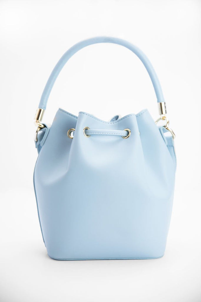 Jaden Bucket Bag - Powder Blue - Haute & Rebellious