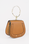 See You Metal Handle Bag - Camel - Haute & Rebellious