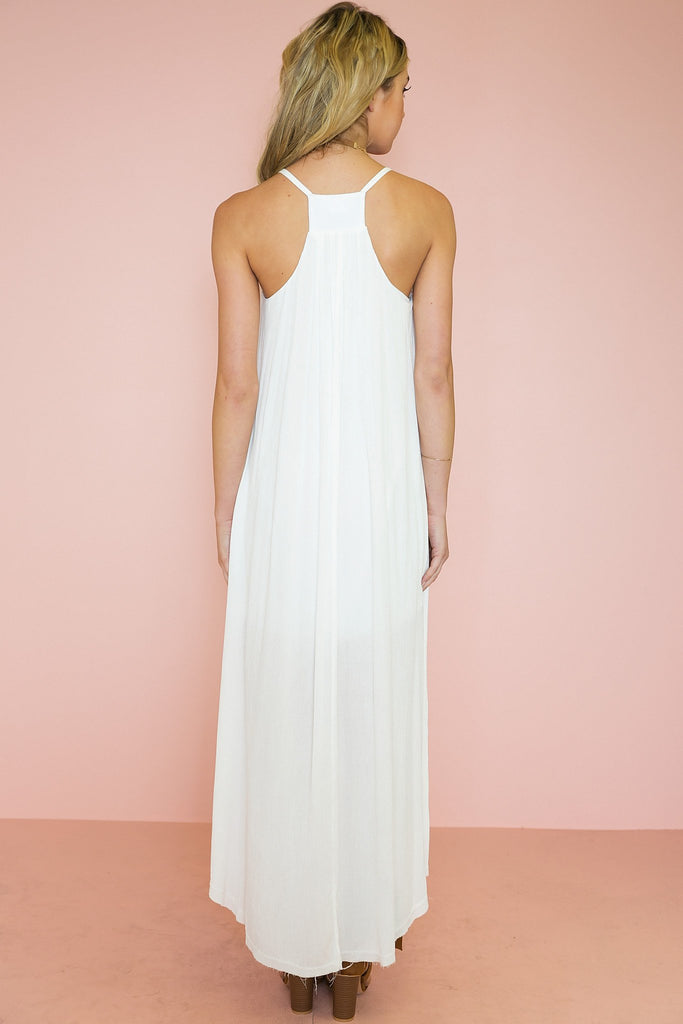 Capri High-Low Maxi Dress