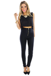 LORIN HIGH WAISTED LEGGINGS - Black - Haute & Rebellious