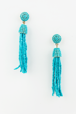 Obsessed with you tassel earrings - Haute & Rebellious