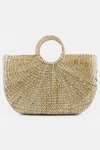 Large Straw Basket Bag - Haute & Rebellious