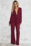 Miss Right Chiffon Jumpsuit - Haute & Rebellious
