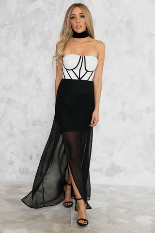 Never-never Land Maxi Dress - Black