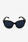 Audrey Round Sunglasses - Black