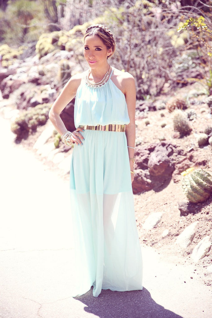 GOLD PLATED BELT - Cream - Haute & Rebellious