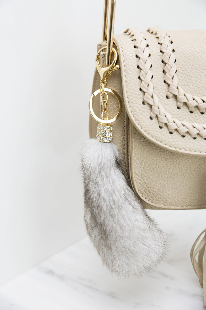 Fur Gold Keychain
