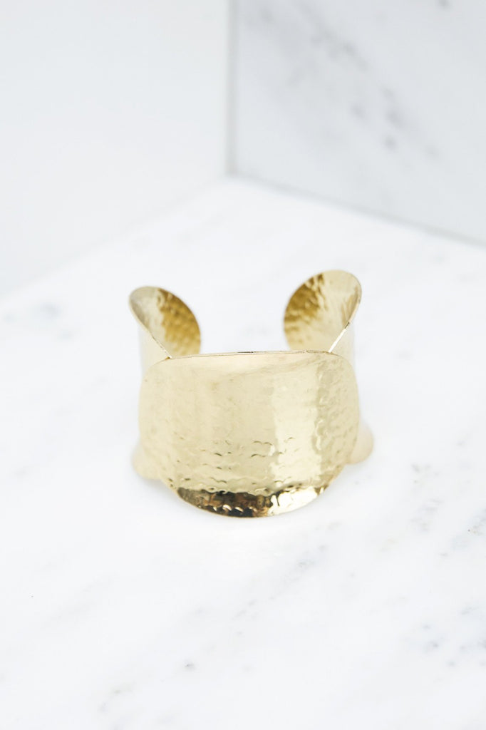 Irena Plated Gold Cuff