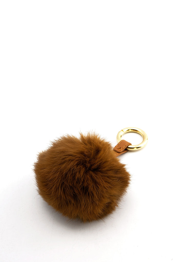 Fur Brown Keychain