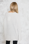 Holy Grail Lace-Up Knit Sweater - Haute & Rebellious