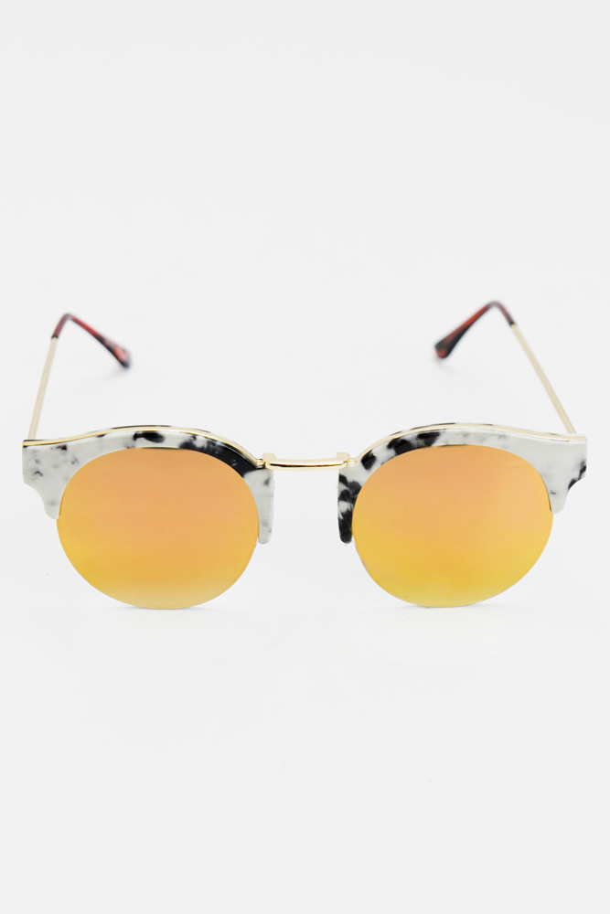 Marble  Shades - Orange/Yellow