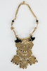 Lara Gold Metal & Fringe Necklace