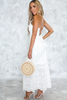 Positano Retreat Eyelet Maxi Dress