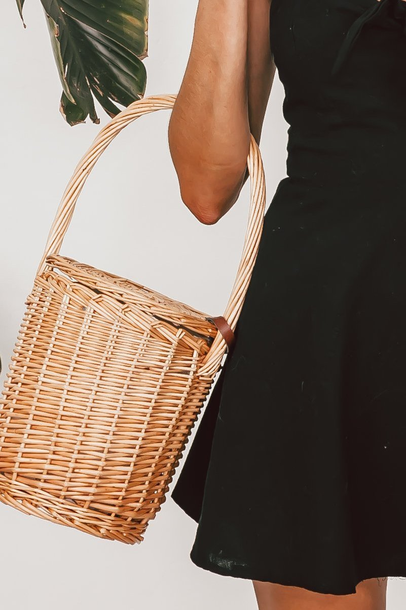 Birkin Small Handle Basket Bag