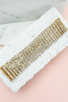 You and I Crystal Choker - Gold - Haute & Rebellious