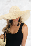 Woven Straw Beach Hat - Haute & Rebellious