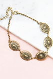 One Desire Choker - Rusted Gold