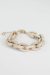 Diamond Chain Link Bracelet - Haute & Rebellious
