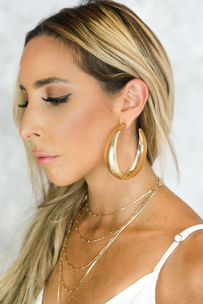 Hear You Say Bold Hoop Earrings - Haute & Rebellious