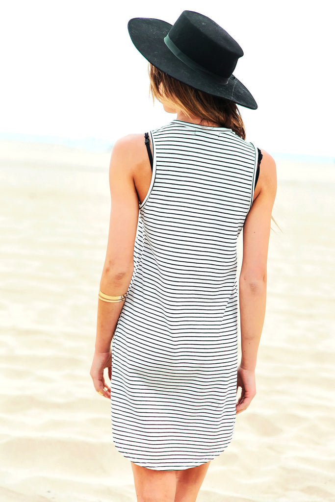 Bahama Striped Tunic Dress