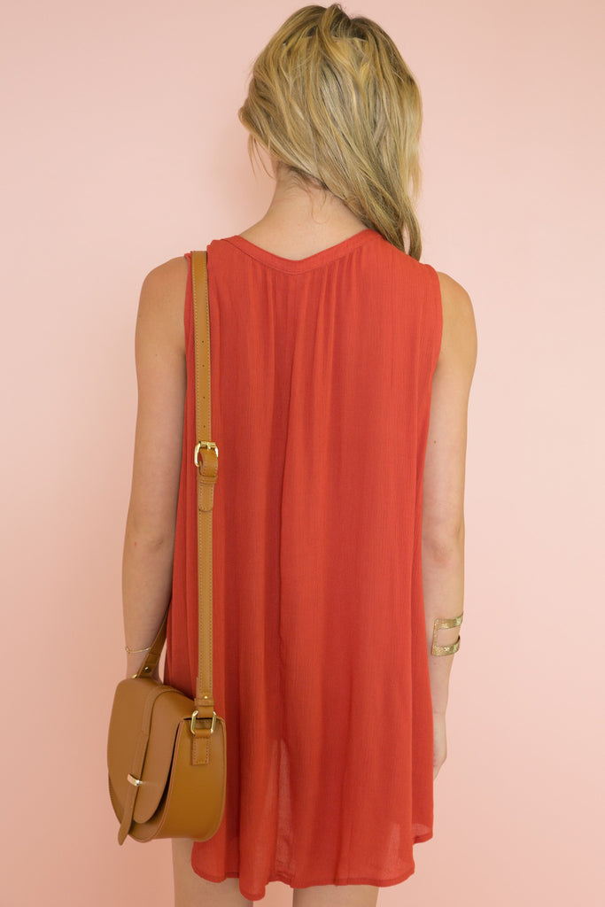 Terracotta Days Sundress