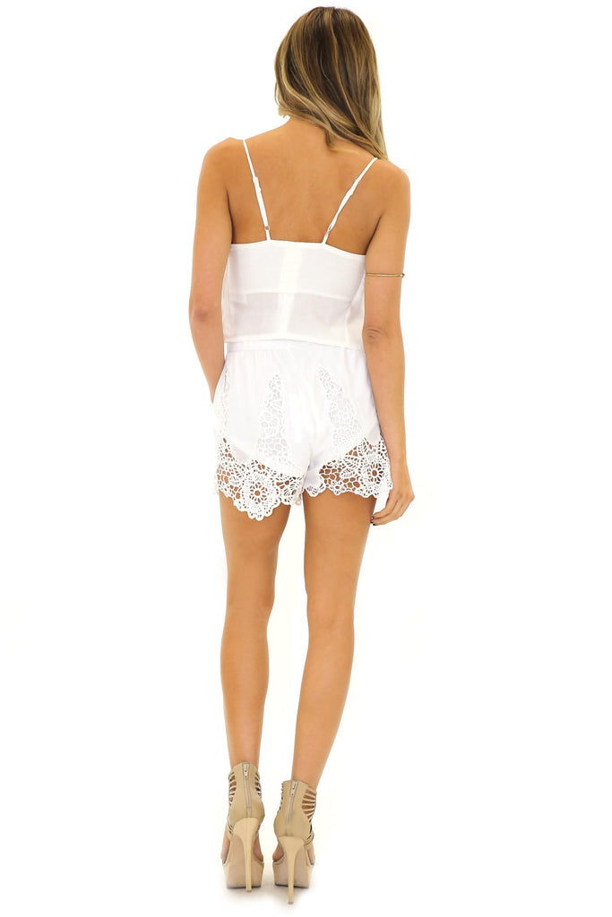 HESTER LACE SHORTS
