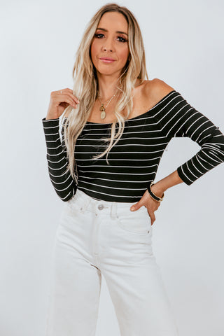 Naomi Ribbed Crop Top