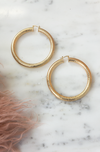 Ready For Your Love Large Hoop Earrings