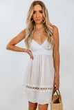 Linen Mini Sundress