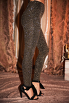Victorian Dreams Metallic Leggings - Haute & Rebellious