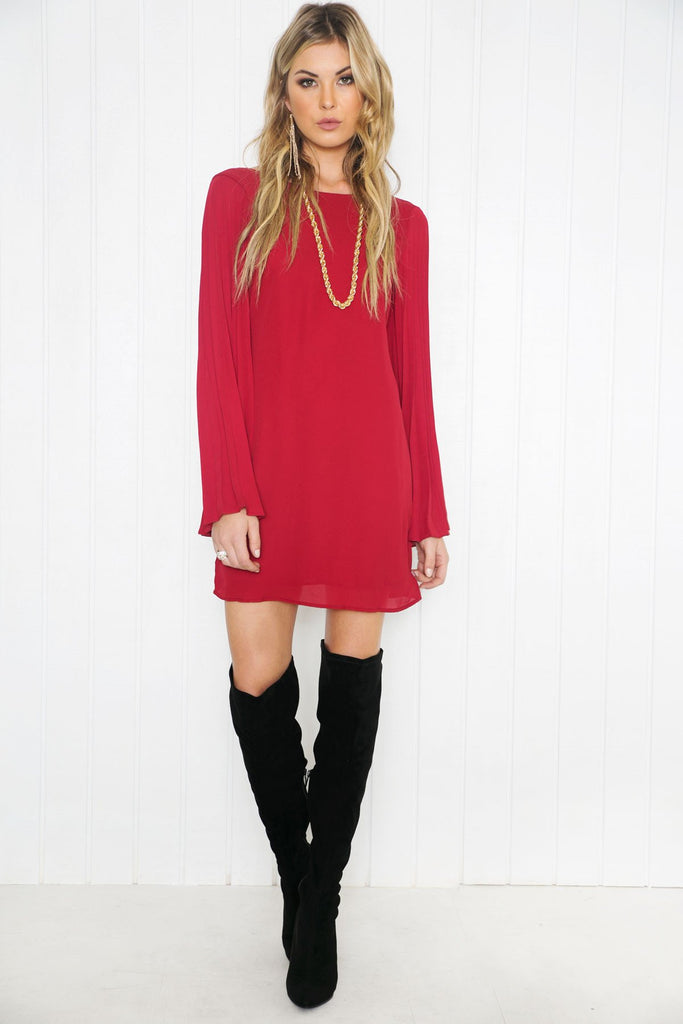 Neriah Bell Sleeve Dress