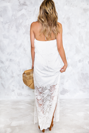 Looking Good Lace Ruffle Midi - Haute & Rebellious