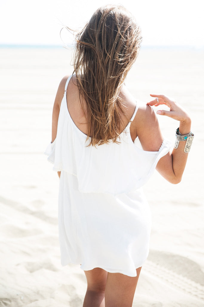 Jana Off-Shoulder Sun Dress