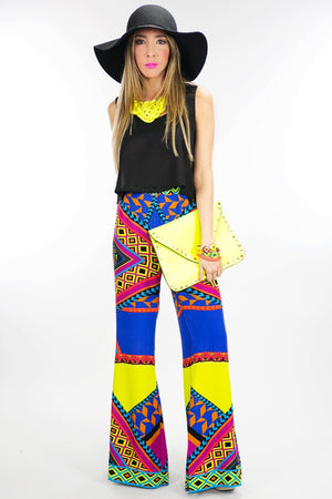 BELL TRIBAL PALAZZO PANT - Haute & Rebellious
