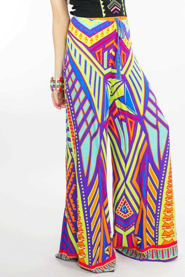 NATIVA TRIBAL PRINT PANTS - Haute & Rebellious